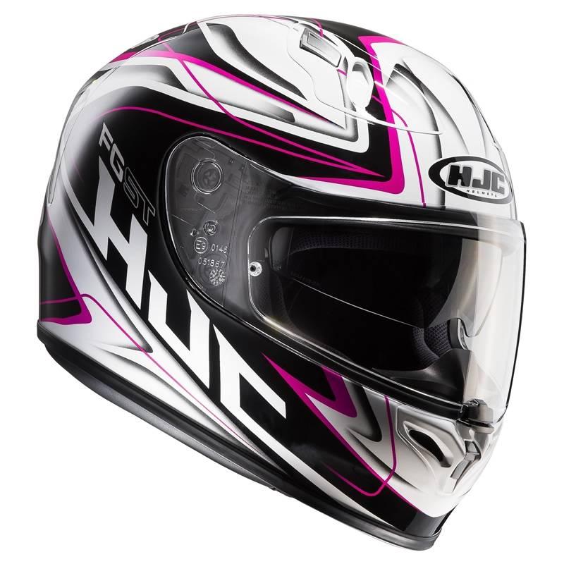 HJC Helm FG-ST Crucial MC8, weiß-schwarz-pink