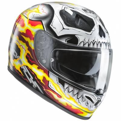 HJC Helm FG-ST Ghost Rider MC1, rot-gelb-weiß