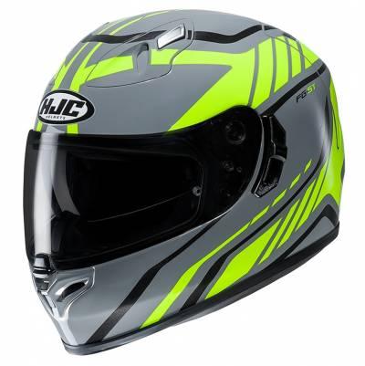 HJC Helm FG-ST Gridan MC4H, grau-gelb-schwarz