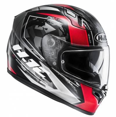HJC Helm FG-ST Kume  MC1SF, schwarz-rot-weiß-matt