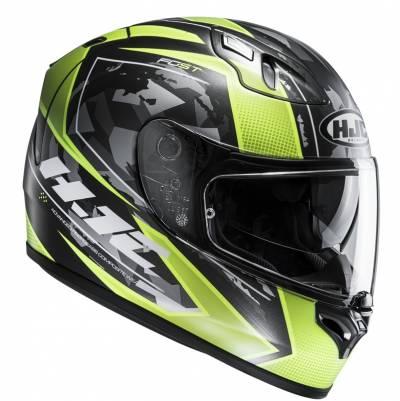 HJC Helm FG-ST Kume MC4HSF, schwarz-gelb-matt