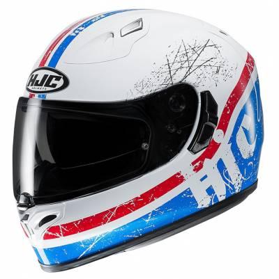 HJC Helm FG-ST Labi MC2, weiß-blau-rot-schwarz