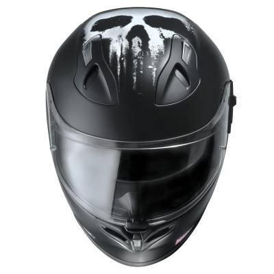 HJC Helm FG ST Punisher MC5SF Marvel, schwarz-matt-weiß