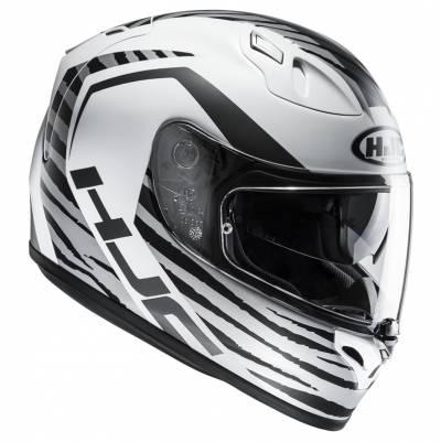HJC Helm FG-ST Tian MC10SF, weiß-schwarz-matt