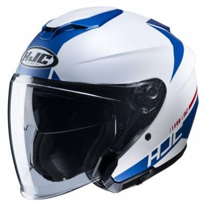 HJC Helm i30 Baras MC2SF, weiß-blau matt