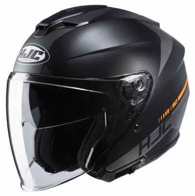 HJC Helm i30 Baras MC5SF, schwarz-grau matt
