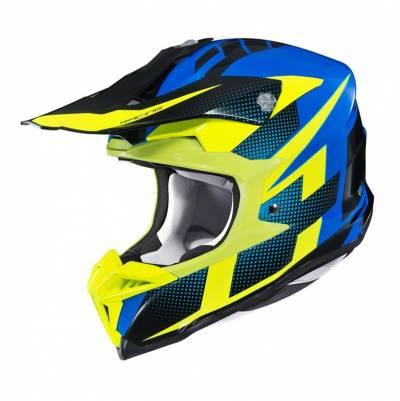 HJC Helm i50 Argos, fluogelb-blau