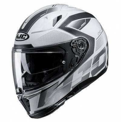 HJC Helm i70 Asto MC5, weiß-silber