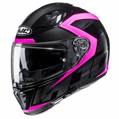 HJC Helm i70 Asto MC8, schwarz-pink-silber