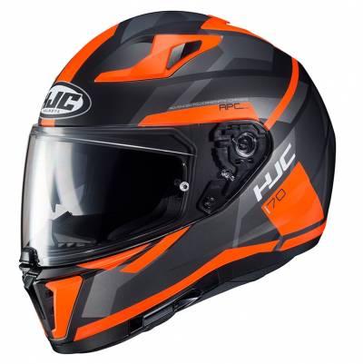 HJC Helm i70 Elim MC6HSF, schwarz-orange matt