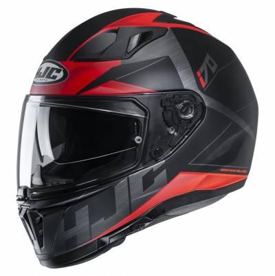 HJC Helm i70 Eluma MC1SF, schwarz-rot matt