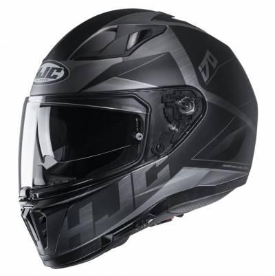 HJC Helm i70 Eluma MC5SF, schwarz-grau matt