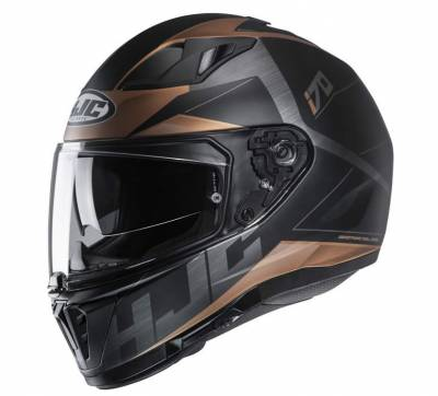 HJC Helm i70 Eluma, MC9SF schwarz-gold matt