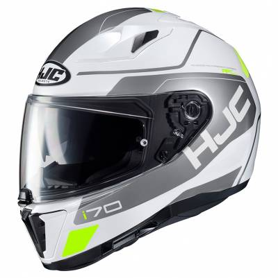 HJC Helm i70 Karon MC10, weiß-silber-gelb