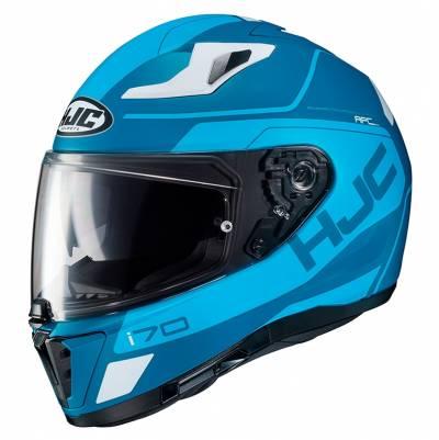 HJC Helm i70 Karon MC2SF,  blau-weiß matt