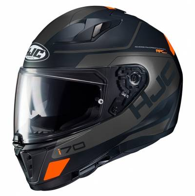 HJC Helm i70 Karon MC5SF, schwarz-orange matt