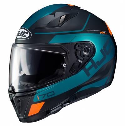HJC Helm i70 Karon MC6HSF, schwarz-blau-orange