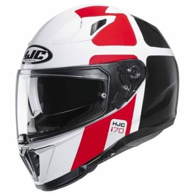 HJC Helm i70 Prika, weiß-rot-schwarz
