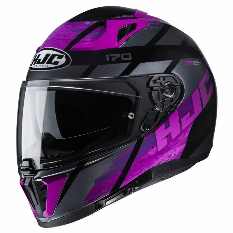 HJC Helm i70 Reden MC1SF, schwarz-violett
