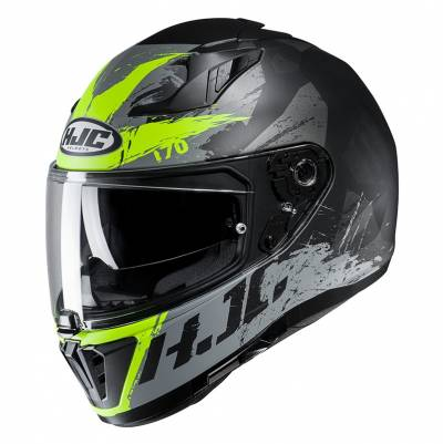 HJC Helm i70 Rias MC4HSF, schwarz-silber-gelb