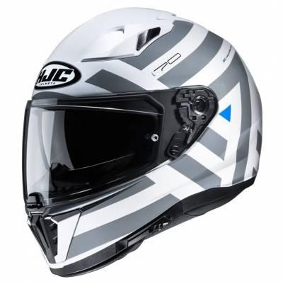 HJC Helm i70 Watu, weiß-anthrazit-blau