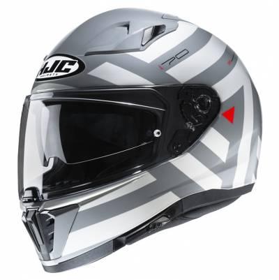 HJC Helm i70 Watu, weiß-grau-rot