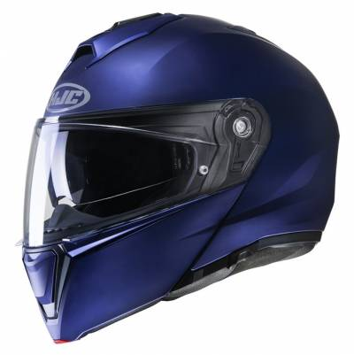 HJC Helm i90, blau metallic matt