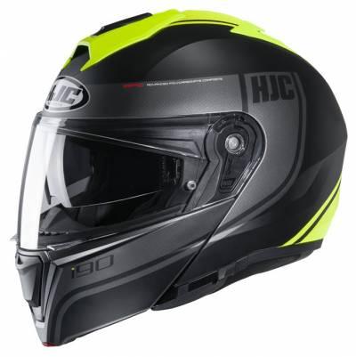 HJC Helm i90 Davan MC4HSF, schwarz-fluogelb matt