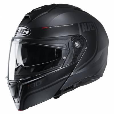 HJC Helm i90 Davan MC5SF, schwarz-grau matt
