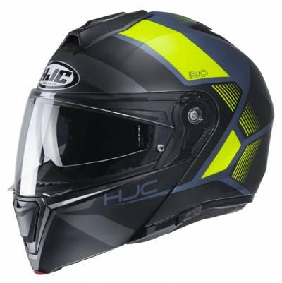 HJC Helm i90 Hollen MC4HSF, schwarz-fluogelb matt
