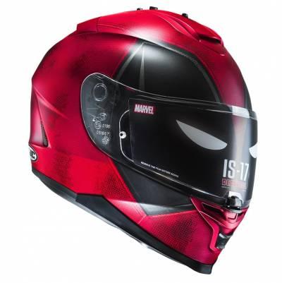 HJC Helm IS-17 Deadpool MC1SF Marvel, rot-schwarz matt