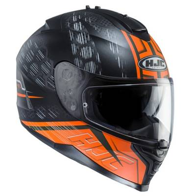 HJC Helm IS-17 Enver MC-6HSF, schwarz-fluo-orange