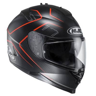 HJC Helm IS-17 Lank MC-1SF, schwarz-orange