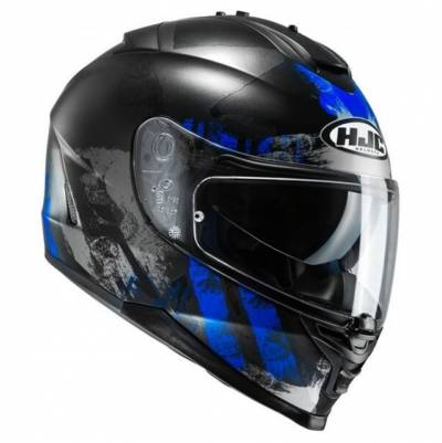 HJC Helm IS-17 Shapy MC2SF (17), schwarz-blau matt