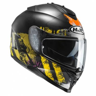 HJC Helm IS-17 Shapy MC3SF, schwarz-gelb matt