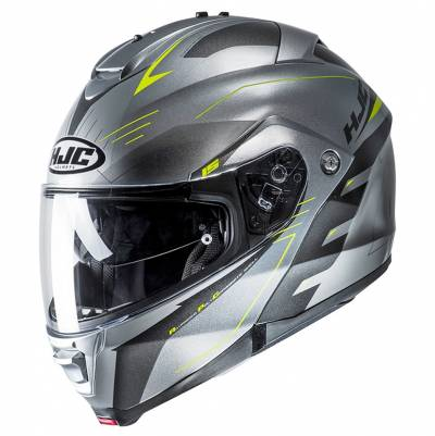 HJC Helm IS-MAX II Cormi MC4H, silber-fluogelb
