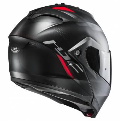 HJC Helm IS-MAX II Dova MC1SF, schwarz-grau-rot matt