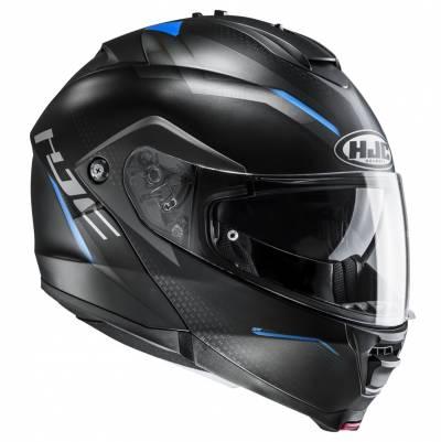 HJC Helm IS-MAX II Dova MC2SF, schwarz-grau-blau matt