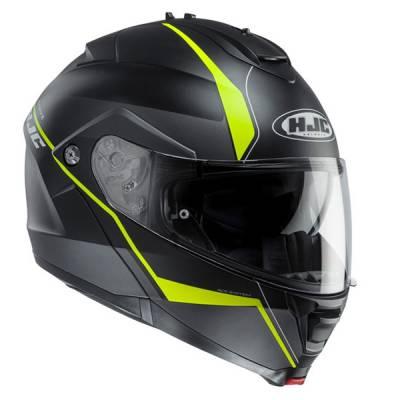 HJC Helm IS-MAX II Mine MC4HSF, schwarz-fluo-gelb