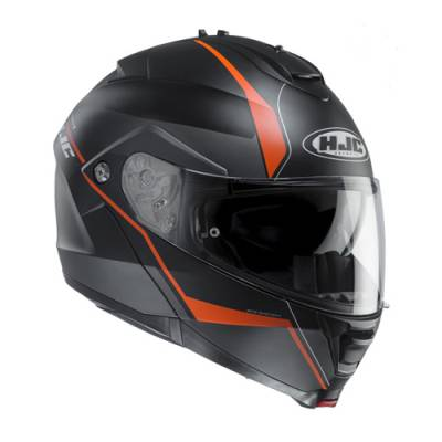 HJC Helm IS-MAX II Mine MC7SF, schwarz-orange