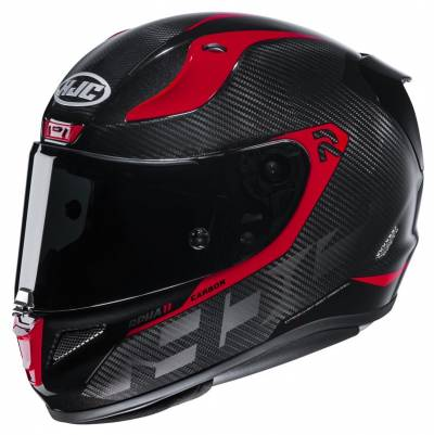 HJC Helm RPHA 11 Carbon Bleer MC1, schwarz-rot
