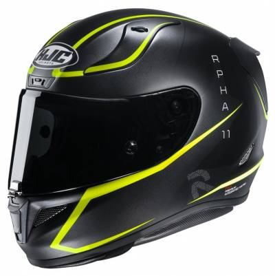 HJC Helm RPHA 11 Jarban MC4HSF, schwarz-fluogelb