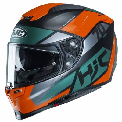 HJC Helm RPHA 70 Debby MC7SF, schwarz-orange-blau
