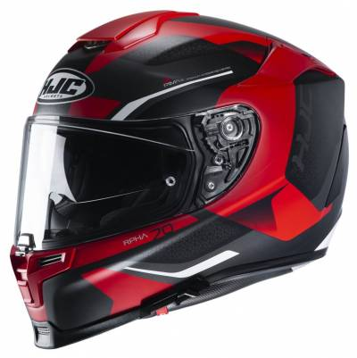 HJC Helm RPHA 70 Kosis MC1SF, schwarz-rot matt