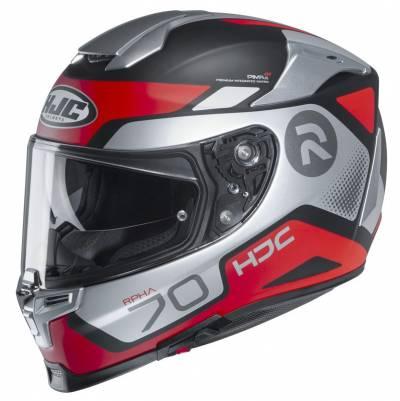 HJC Helm RPHA 70 Shuky MC1SF, silber-rot-schwarz matt