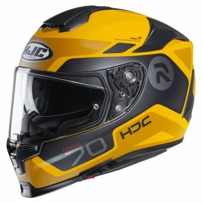 HJC Helm RPHA 70 Shuky MC3SF, gelb-schwarz matt