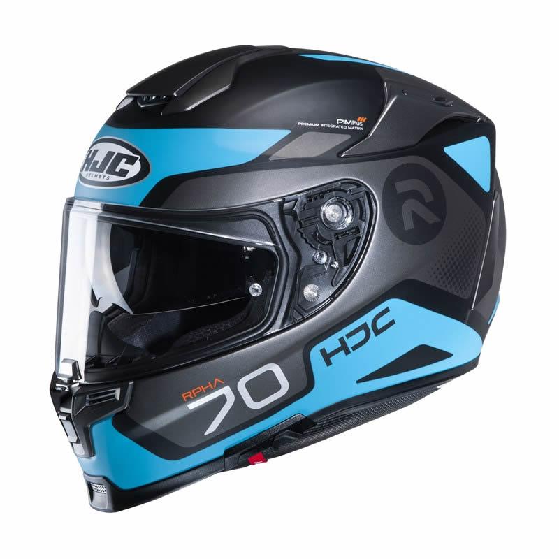 HJC Helm RPHA 70 Shuky MC4SF, schwarz-blau matt