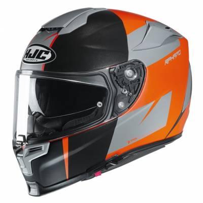 HJC Helm RPHA 70 Terika MC7SF, silber-orange-schwarz