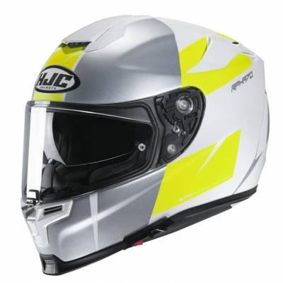 HJC Helm RPHA 70 Terika RPHA70, silber-weiß-fluogelb