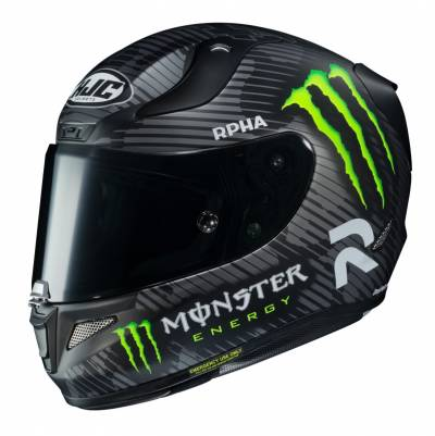 HJC Helm Rpha11 94 Special MC5SF, Monster Energy